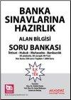 Akademi Yayınları Banka Sınavlarına Hazırlık Alan Bilgisi Soru Bankası
