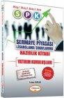 Yediiklim Yayınları SPK Yatırım Kuruluşları Hazırlık Kitabı