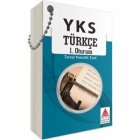 Delta Kültür Yayınları TYT Türkçe Cep Kartı