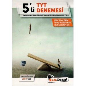 Kafa Dengi Yayınları TYT 5 li Deneme