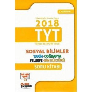 Metin Yayınları TYT 1. Oturum Sosyal Bilimler Soru Kitabı