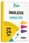 Ankara Yayıncılık 8. Sınıf İngilizce Yaprak Test