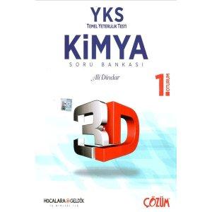 Hocalara Geldik YKS 1. Oturum TYT Kimya 3D Soru Bankası