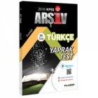 Filozof Yayıncılık KPSS Türkçe Çek Kopar 80 Yaprak Test Video Destekli