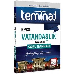 657 Yayınları 2018 KPSS Teminat Vatandaşlık Açıklamalı Soru Bankası