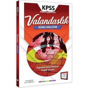 657 Yayınları 2018 KPSS Vatandaşlık Konu Anlatımlı