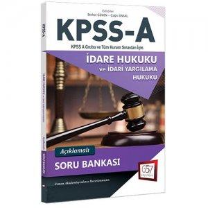657 Yayınları KPSS A Grubu İdare Hukuku Açıklamalı Soru Bankası