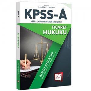 657 Yayınları KPSS A Grubu Ticaret Hukuku Konu Anlatımı