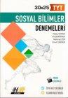 Hız ve Renk Yayınları TYT Sosyal Bilimler 30 x 25 Denemeleri