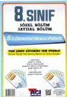 Açı Yayınları 8.Sınıf Sayısal Sözel 5 li Deneme Sınavı
