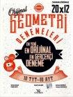 Yayın Denizi Yayınları TYT AYT Geometri 20x12 Denemeleri