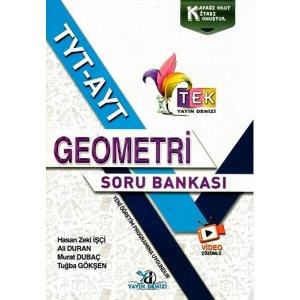 Yayın Denizi Yayınları TYT AYT TEK Serisi Video Çözümlü Geometri Soru Bankası
