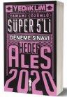 Yediiklim Yayınları 2020 ALES Tamamı Çözümlü Süper 5 li Deneme Sınavı