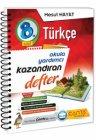 Çanta Yayınları 8. Sınıf Türkçe Kazandıran Defter