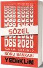 Yediiklim Yayınları 2020 DGS Sözel Bölüm Tamamı Çözümlü Soru Bankası