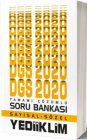 Yediiklim Yayınları 2020 DGS Sayısal Sözel Tamamı Çözümlü Soru Bankası