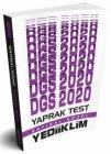 Yediiklim Yayınları 2020 DGS Sayısal Sözel Yaprak Test