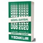 Yediiklim Yayınları 2020 DGS Sayısal Sözel 5 Deneme