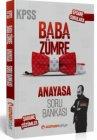 Uzman Kariyer Yayınları 2020 KPSS Baba Zümre Anayasa Soru Bankası