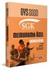 Data Yayınları 2020 SGK Memuruma Özel GYS Hazırlık Kitabı