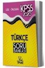 Yeni Trend Yayınları 2020 KPSS Lise Ön Lisans Türkçe Soru Bankası