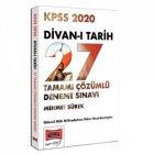 Yargı Yayınları 2020 KPSS Divanı Tarih Tamamı Çözümlü 27 Deneme Sınavı
