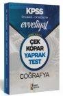 İsem Yayınları 2020 KPSS Ön Lisans Ortaöğretim Coğrafya Evveliyat Çek Kopar Yaprak Test