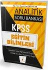 Pelikan Yayınları 2020 KPSS Eğitim Bilimleri Analitik Soru Bankası