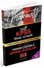 Yargı Yayınları 2020 KPSS Matematik Konularına Göre Düzenlenmiş Tamamı Çözümlü Çıkmış Sorular