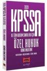 Yargı Yayınları 2020 KPSS A Grubu ve Tüm Kurum Sınavları İçin Özel Hukuk Konu Anlatımı