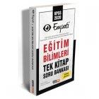 Kariyer Meslek Yayınları 2020 KPSS Eğitim Bilimleri Empati Tek Kitap Tamamı Çözümlü Soru Bankası