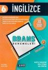 İşleyen Zeka Yayınları 6. Sınıf İngilizce Branş Denemeleri