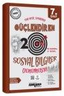 Ankara Yayıncılık 7. Sınıf Sosyal Bilgiler Güçlendiren 20 Deneme Sınavı