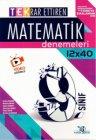 Yayın Denizi Yayınları 9. Sınıf Matematik TEK Serisi 12 x 40 Denemeleri