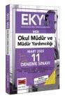 Yargı Yayınları 2020 EKYS MEB Okul Müdür ve Müdür Yardımcılığı Tamamı Çözümlü 11 Deneme Sınavı