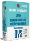 Data Yayınları 2020 GYS Ceza ve Tevkifevleri Şeflik ve Denetimli Serbestlik Müdür Yardımcılığı Hazırlık Kitabı