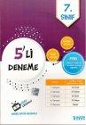 İşleyen Zeka Yayınları 7. Sınıf PYBS 5 li Deneme