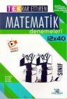 Yayın Denizi Yayınları 11. Sınıf Matematik TEK Serisi 12 x 40 Denemeleri