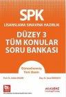 Akademi Eğitim SPK Düzey 3 Tüm Konular Soru Bankası