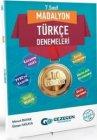 Gezegen Yayınları 7. Sınıf Türkçe Madalyon 10lu Denemeleri