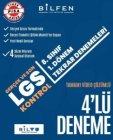 Bilfen Yayınları 8. Sınıf LGS 1. Dönem 4lü Tekrar Denemeleri