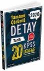 Tercih Akademi Yayınları 2020 KPSS Tarih Detay 20 Deneme Çözümlü