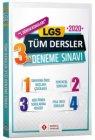 Sonuç Yayınları 8. Sınıf LGS 1. Dönem Tüm Dersler 3 lü Deneme
