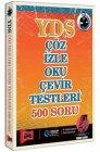 Yargı Yayınları YDS Çöz İzle Oku Çevir Testleri 500 Soru