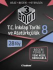 Tudem Yayınları 8. Sınıf T.C. İnkılap Tarihi ve Atatürkçülük 3 Boyut 28 li Föy