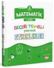 Kral Kızı Yayınları 2. Sınıf Matematik Beceri Temelli Yeni Nesil Etkinlikler 1. Kitap