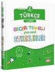 Kral Kızı Yayınları 2. Sınıf Türkçe Beceri Temelli Yeni Nesil Etkinlikler 1. Kitap