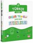 Kral Kızı Yayınları 2. Sınıf Türkçe Beceri Temelli Yeni Nesil Etkinlikler 2. Kitap