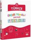 Kral Kızı Yayınları 4. Sınıf Türkçe Beceri Temelli Yeni Nesil Etkinlikler