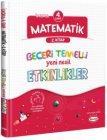 Kral Kızı Yayınları 4. Sınıf Matematik Beceri Temelli Yeni Nesil Etkinlikler 2. Kitap